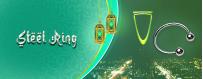 Buy Steel Ring Online | Adult Accessories in Saudi Arabia
